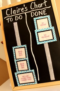 to do chart   polka dots and picket fences