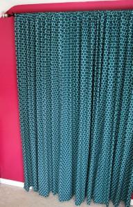 boho chic bedroom | polka dots and picket fences