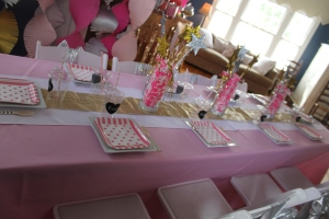 sparkle and shine party | polka dots and picket fences