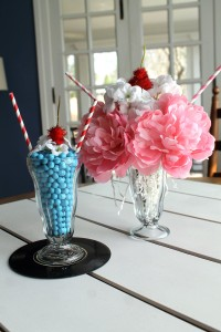 fifties flashback | polka dots and picket fences