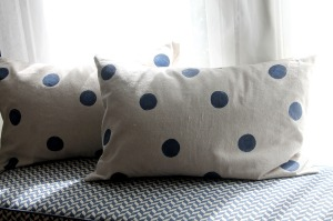 house into home | polka dots and picket fences