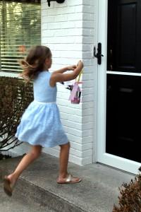 may day baskets | polka dots and picket fences