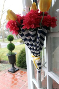 rain, rain... | polka dots and picket fences