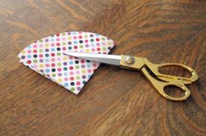 candy umbrellas   polka dots and picket fences