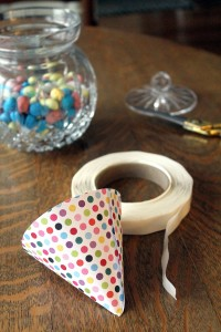 candy umbrellas | polka dots and picket fences