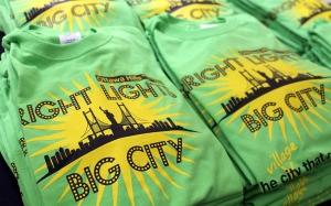 bright lights, big city | polka dots and picket fences