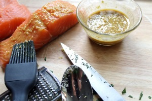 honey mustard panko crusted salmon | polka dots and picket fences