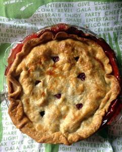 strawberry baking | polka dots and picket fences