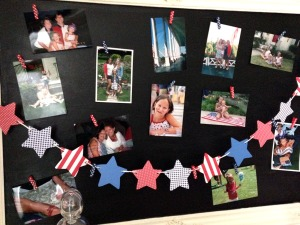 july | polka dots and picket fences