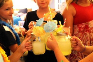 teen beach 2 movie premiere party | polka dots and picket fences