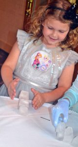 frozen birthday party | polka dots and picket fences