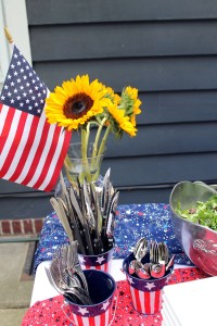 pre-4th of july celebration | polka dots and picket fences