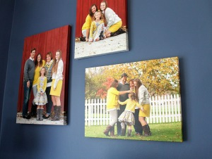 the wall | polka dots and picket fences