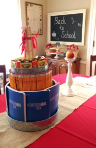 back to school brunch | polka dots and picket fences