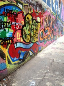 graffiti alley | polka dots and picket fences