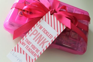 tickled pink | polka dots and picket fences