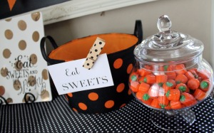 be spooky | polka dots and picket fences