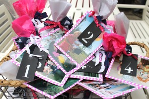 birthday countdown | polka dots and picket fences