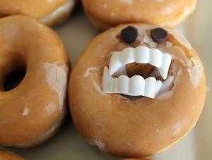dracula donuts | polka dots and picket fences