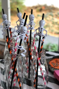halloween lunch | polka dots and picket fences
