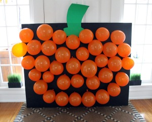 pumpkin pop | polka dots and picket fences
